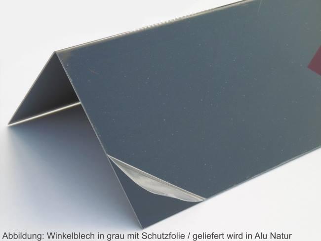 alu winkel blech natur blank aluminium fassadenblech eckblech 125 mm dachblech ebay. Black Bedroom Furniture Sets. Home Design Ideas